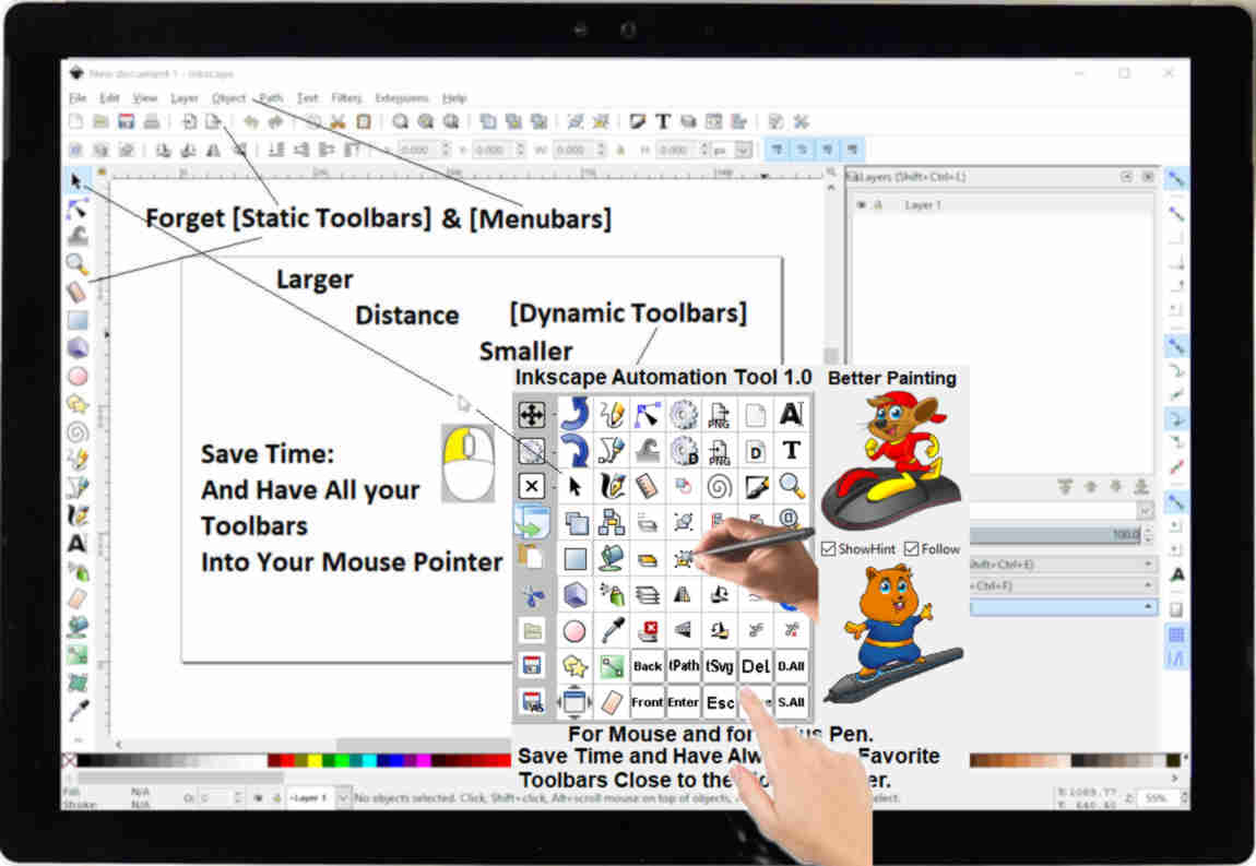 inkscape tools