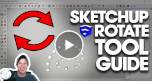 sketchup rotation tool
