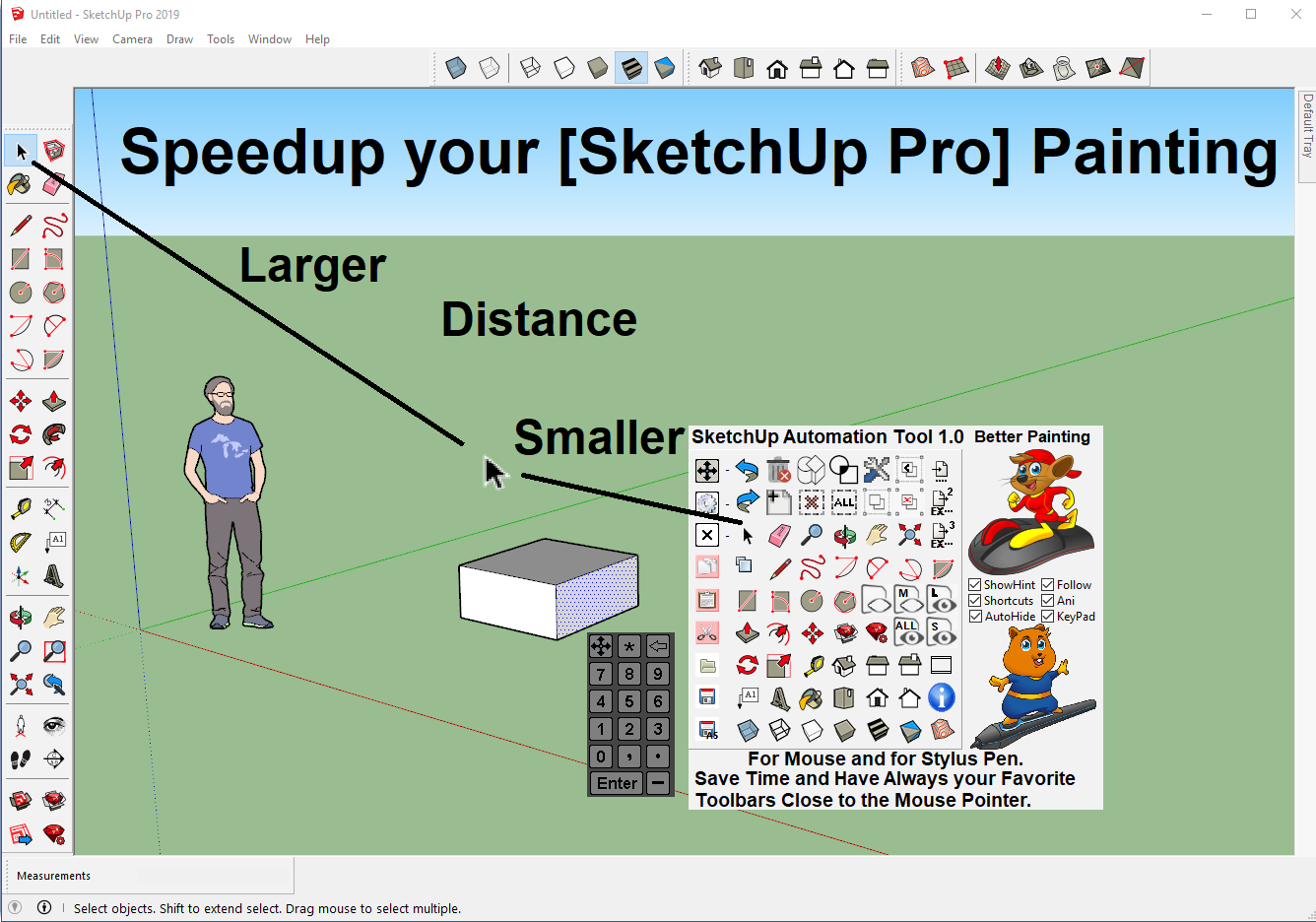 Windows 10 Sketchup Automation Tools full